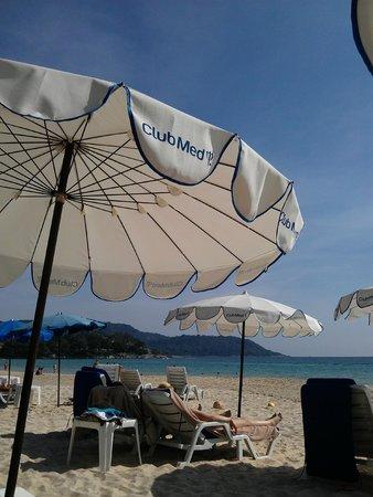 Club Med Phuket: Bright sunny day