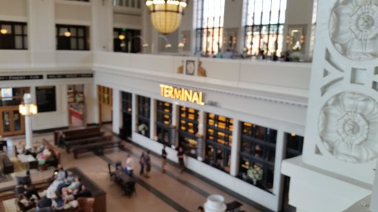 Union Station: View of Cooper Lounge