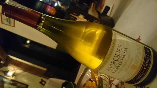 The Steakhouse: Chile white wine