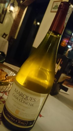 The Steakhouse : Chile white wine