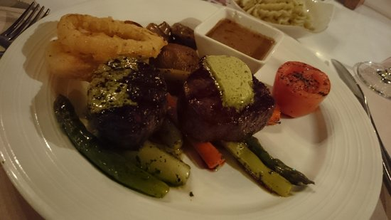 The Steakhouse: Medallion Black Angus