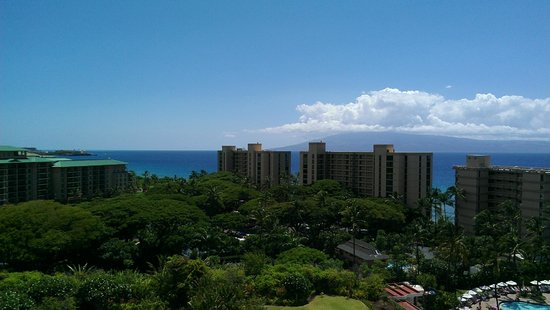 Ka'anapali Beach Club: View from our room