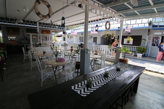 Nipah Guesthouse : Breakfast area