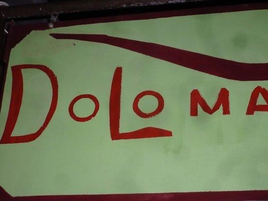 Restaurant Doloma: Lätt att hitta hit.