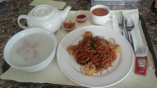 Dorsett Wanchai, Hong Kong : breakfast room service