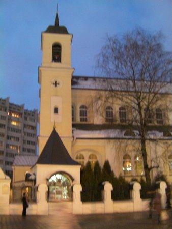 Independence Square, Minsk: Красный костёл