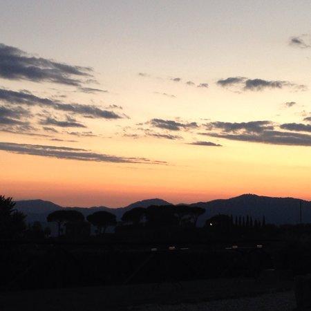 Tenuta San Pietro Hotel & Restaurant: Sunset