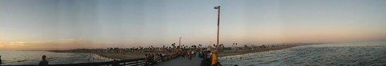 Malibu Pier : panorama