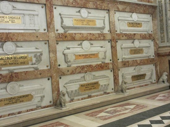 Cathedral of Marie-Reine-du-Monde: Crypts