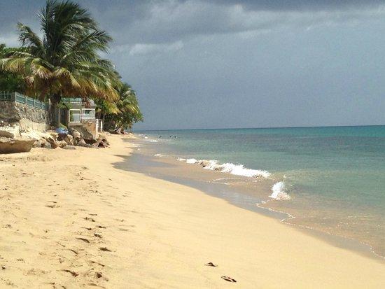 Villa Cofresi Hotel: Enjoying the sun at the beach...