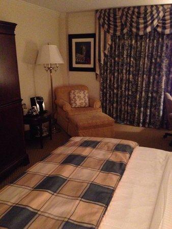 Washington Duke Inn & Golf Club: Sitting area