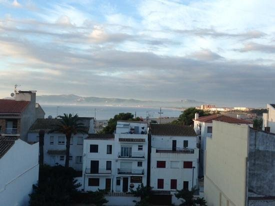 Hotel Santa Anna: View from the breakfast terrasse