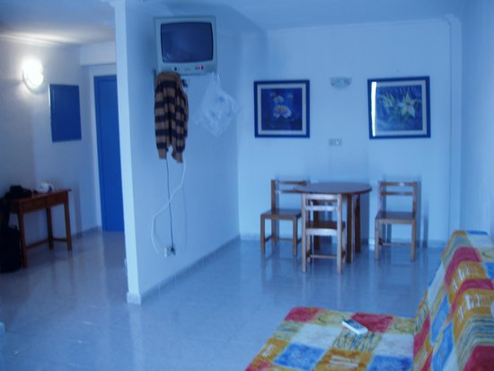 Hotel Apartamentos Monterrey: salon comedor