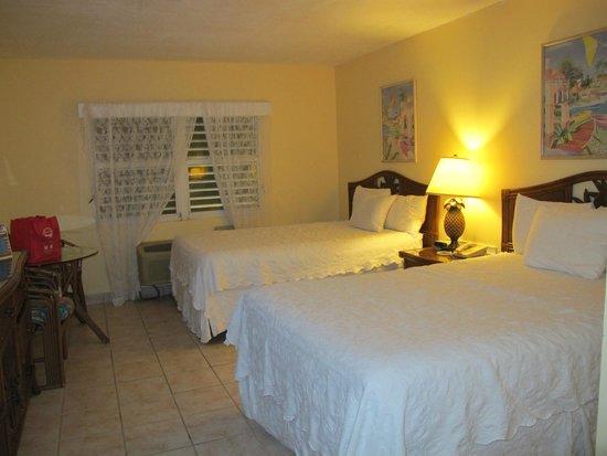 Bayside Inn Key Largo: Our room