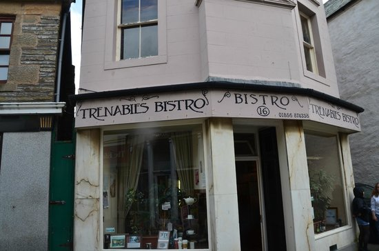 Trenabies Cafe Bistro: Kirkwall casual lunch