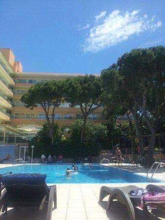 Las Vegas Hotel: The main pool area, lovely!