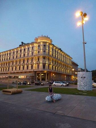 Grand Hotel Principe di Piemonte: Hotel front