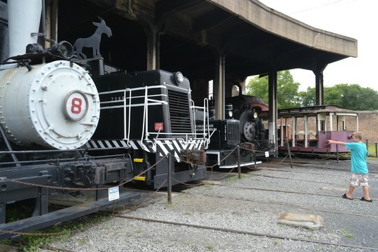 Roundhouse at the Georgia State Railroad Museum