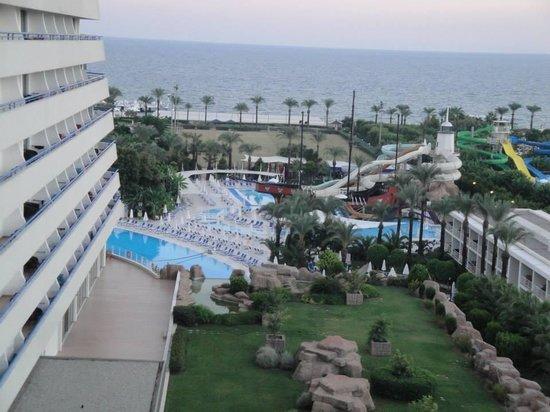 Titanic Beach Lara Hotel: A vista da varanda