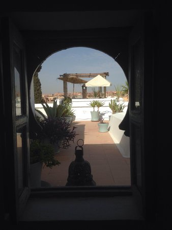 Hotel & Spa Riad Edward: View from our window !
