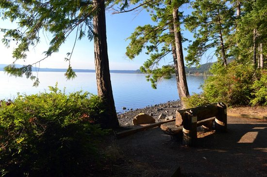 Hood Canal from Seal Rock Campground