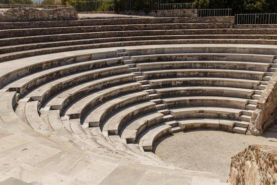 Roman Odeon of Kos: С верхнего ряда