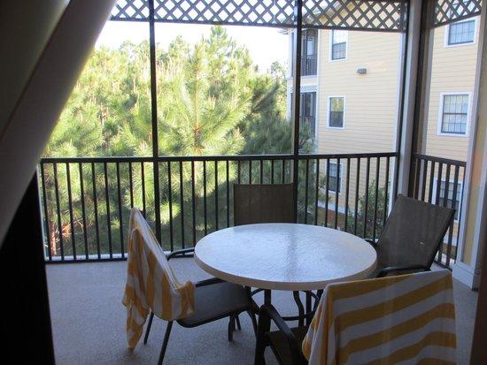 Caribe Cove Resort Orlando: Spacious patio