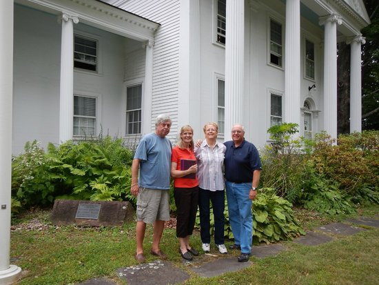Winsted, CT: In front of the Solomon Rockwell House