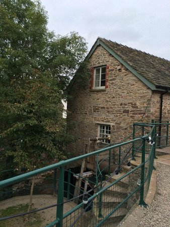 Talgarth Mill: The Mill building