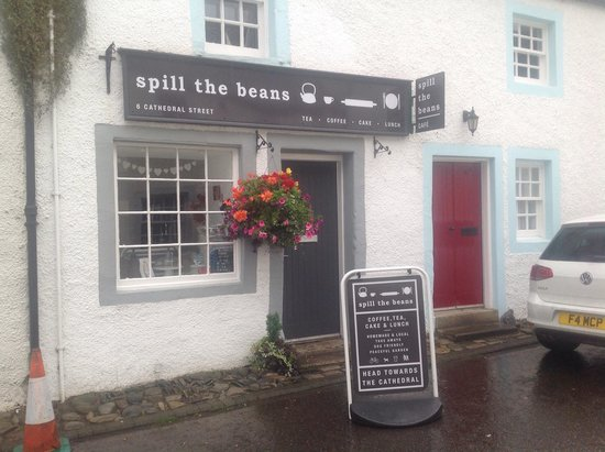 Spill The Beans Cafe: Just so you recognise us!