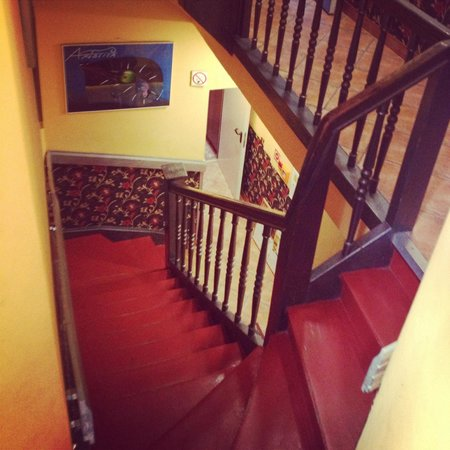 Kanonia Hostel & Apartments: Stairs