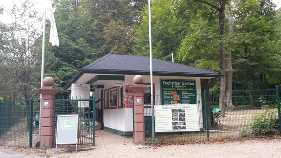 The English Garden Entrance Bild Von Englischer Garten Eulbach Michelstadt Tripadvisor