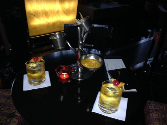Glo Cocktail Bar: more chips dips and old fashioneds