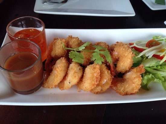 Fisherman's Restaurant & Bar: Tempura shrimps