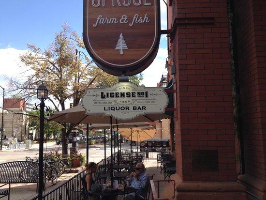 Hotel Boulderado : #1 Liquor License