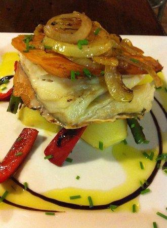 Restaurante Fuente de Zeta: Bacalao a la portuguesa