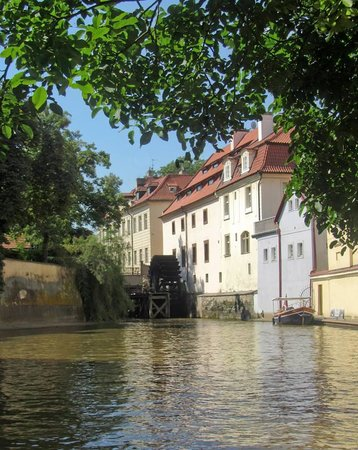 Prague Venice Boat Trip : Mill at Devil's stream