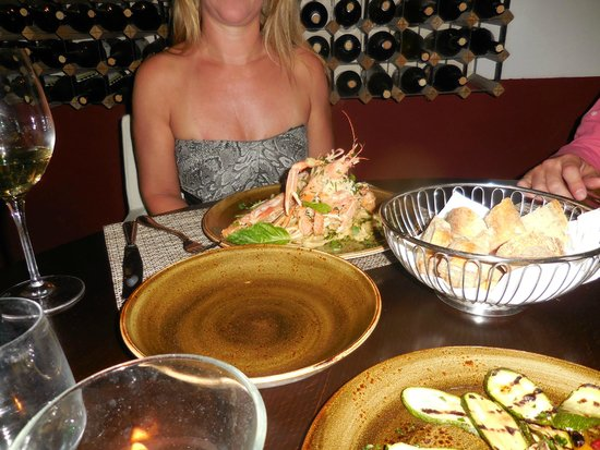 Michel'angelo : the seafood was superb!