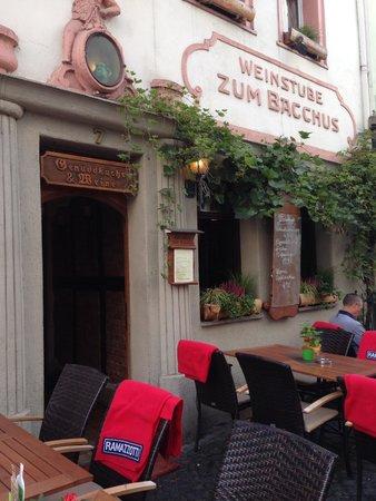 Walking Mainz: A nice cafe/wine bar