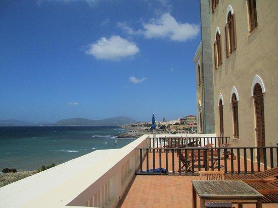 Villa Las Tronas Hotel  & Spa: Balcony view towards the town