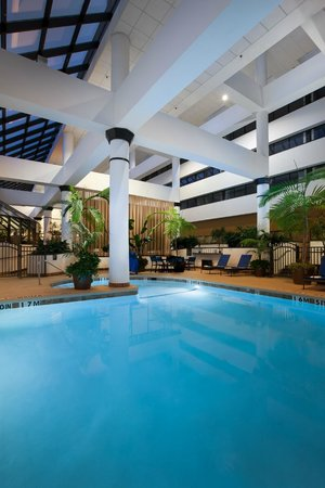 Indoor Heated R Pool Picture Of Wyndham Houston