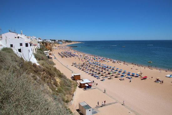 Encosta Da Orada Beach In Albufeira