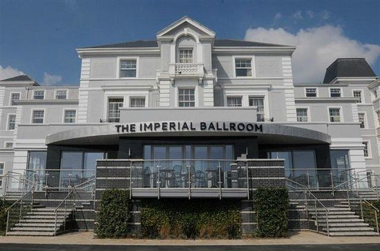 Hythe Imperial: Entrance to Ballroom