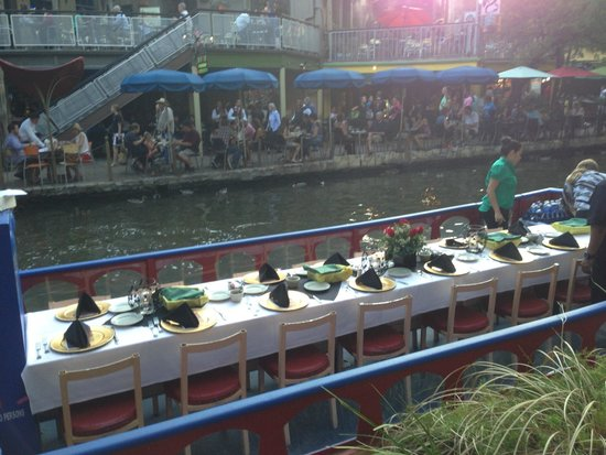 Michelino's: Our river cruise barge prior to boarding.