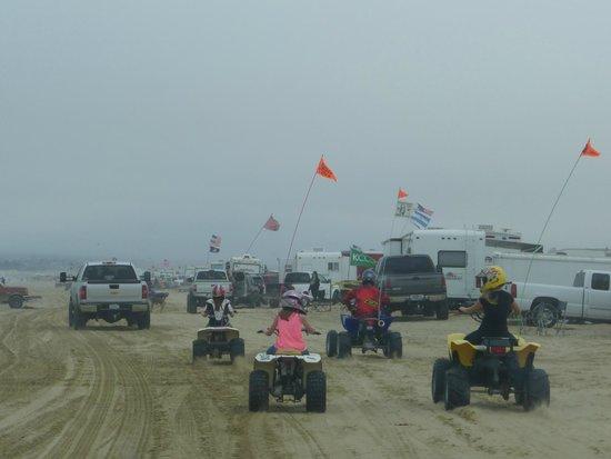 Sun Buggy & ATV Fun Rentals - Pismo Beach: Buggys am Wasser.