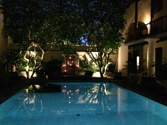 Galle Fort Hotel: Pool area
