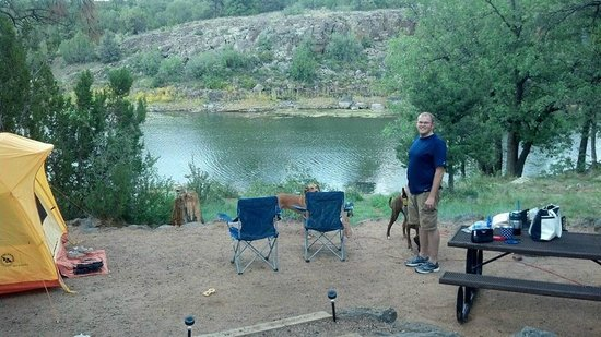 Fool hollow campground northern harrier 07 site show for Camping and fishing in arizona