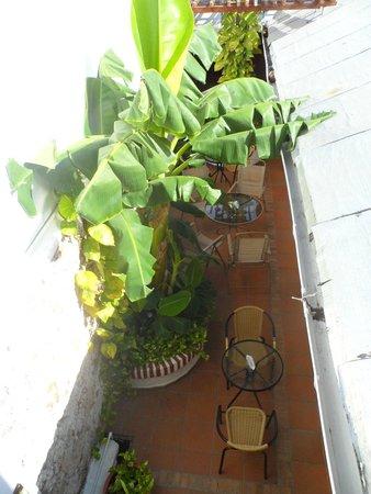 Hotel Casa Abril : área do café da manhã