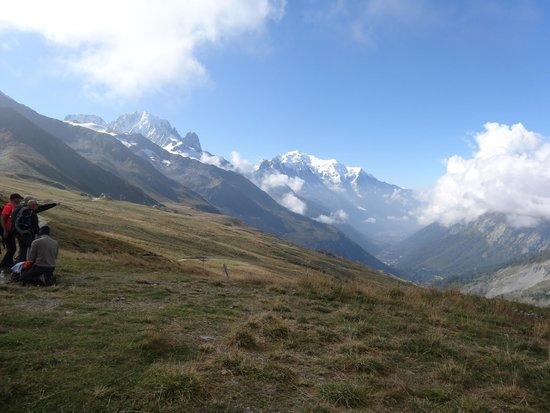 Hotel La Chaumiere: Mont Blanc