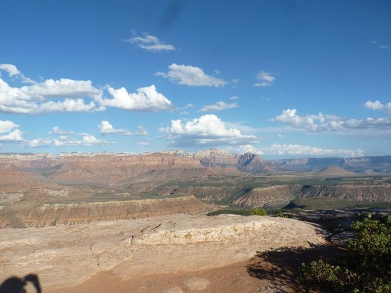 Zion Outback Safaris: Incredible view from one of the stop off points